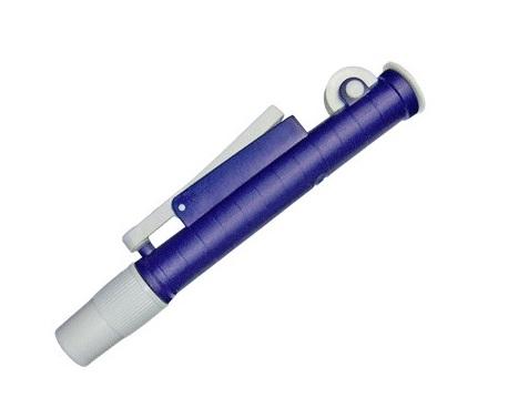 Pipetador   Pipet Pump  Azul  para Pipetas de 1 E 2 Ml