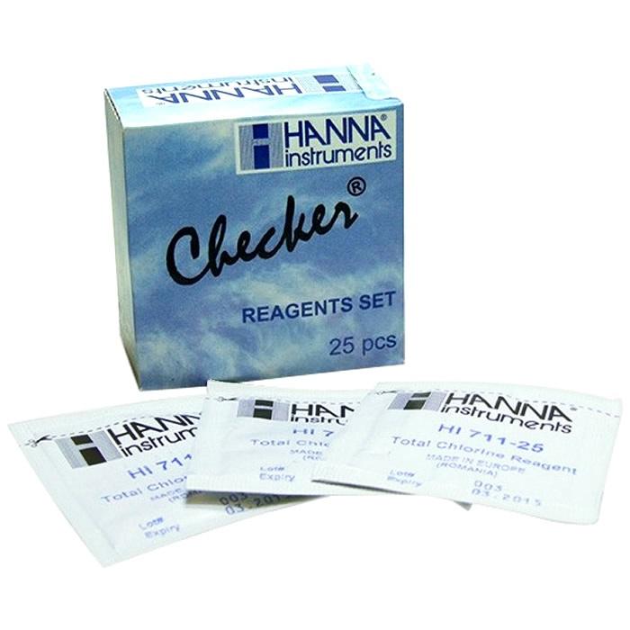 Reagente Para Cloro Livre - 25 Testes - Hanna