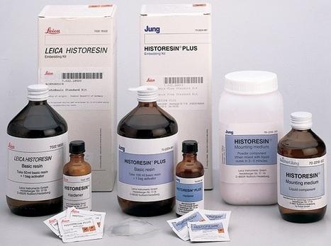 Resina Histológica - Historesina - 500 Ml - Pack Com 6 Kits