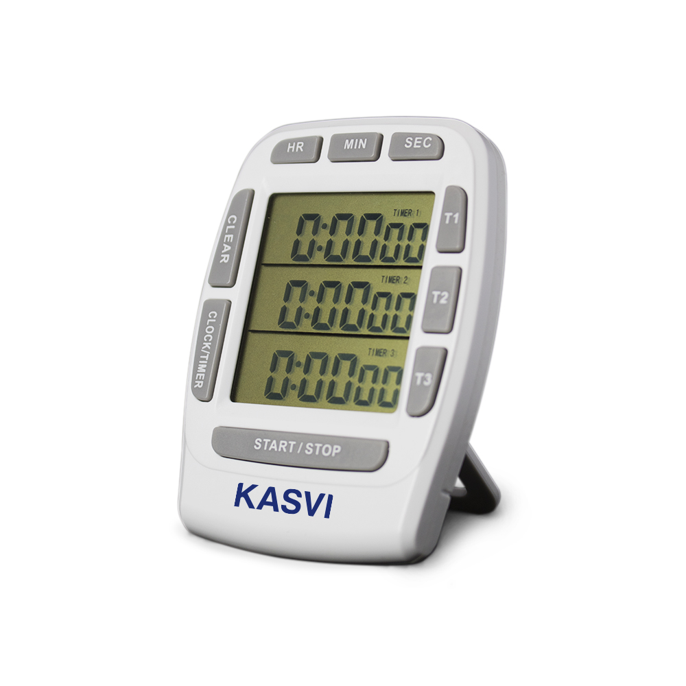 Timer Digital Com 3 Canais Independentes - Kasvi