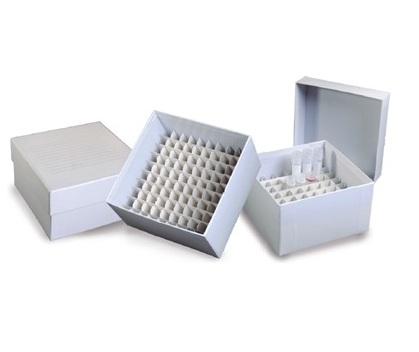Caixa de Fibra de Papelão para 100 Microtubos de 1,5/2,0ml