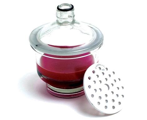 Dessecador de Vidro Completo - 240 Mm
