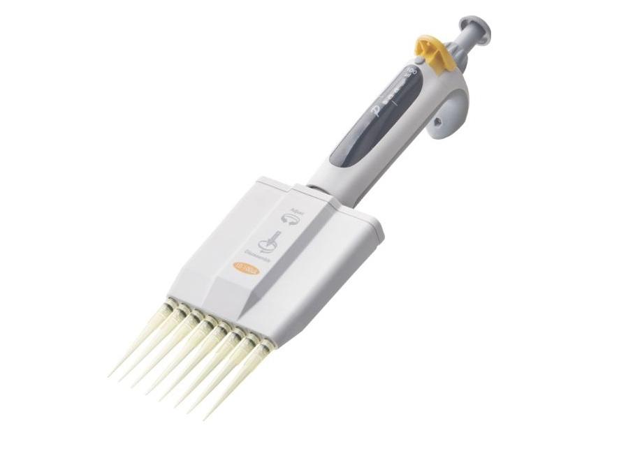Micropipeta Multicanal 8 Canais - 30/300 Ul