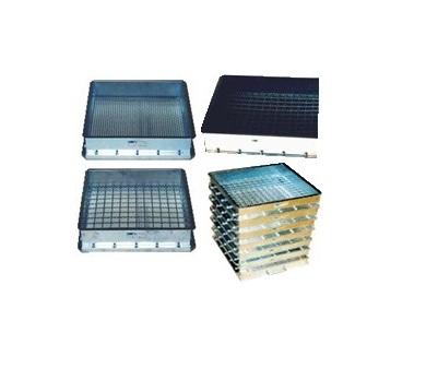Peneira Granulométrica Quadrada 50x50x10 Cm - Malha 200
