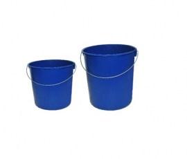 azul pl/ástico Cubo de pl/ástico de 10/o 5/litros 5 litros