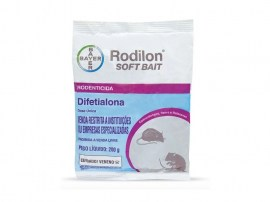Raticida Rodilon Soft Bait - 200 Gr - Bayer