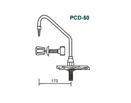 Válvula em Latão Pintado - Pcd-50