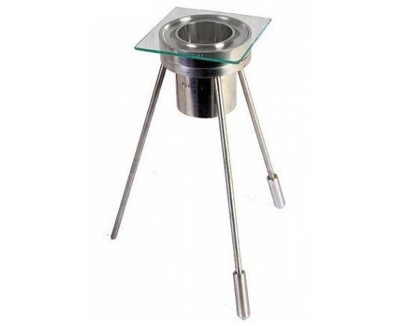 Viscosímetro Cup Ford De Alumínio Polido - Kit Completo